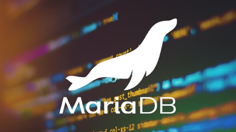ติดตั้ง MariaDB